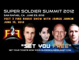 Feet to Fire Radio – Super Soldier Summit – June 15, 2012