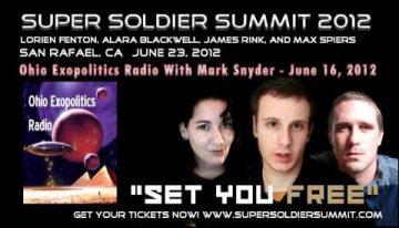 Ohio Exopolitics Radio with Alara Blackwell, James Rink, and Max Spiers – June 16, 2012