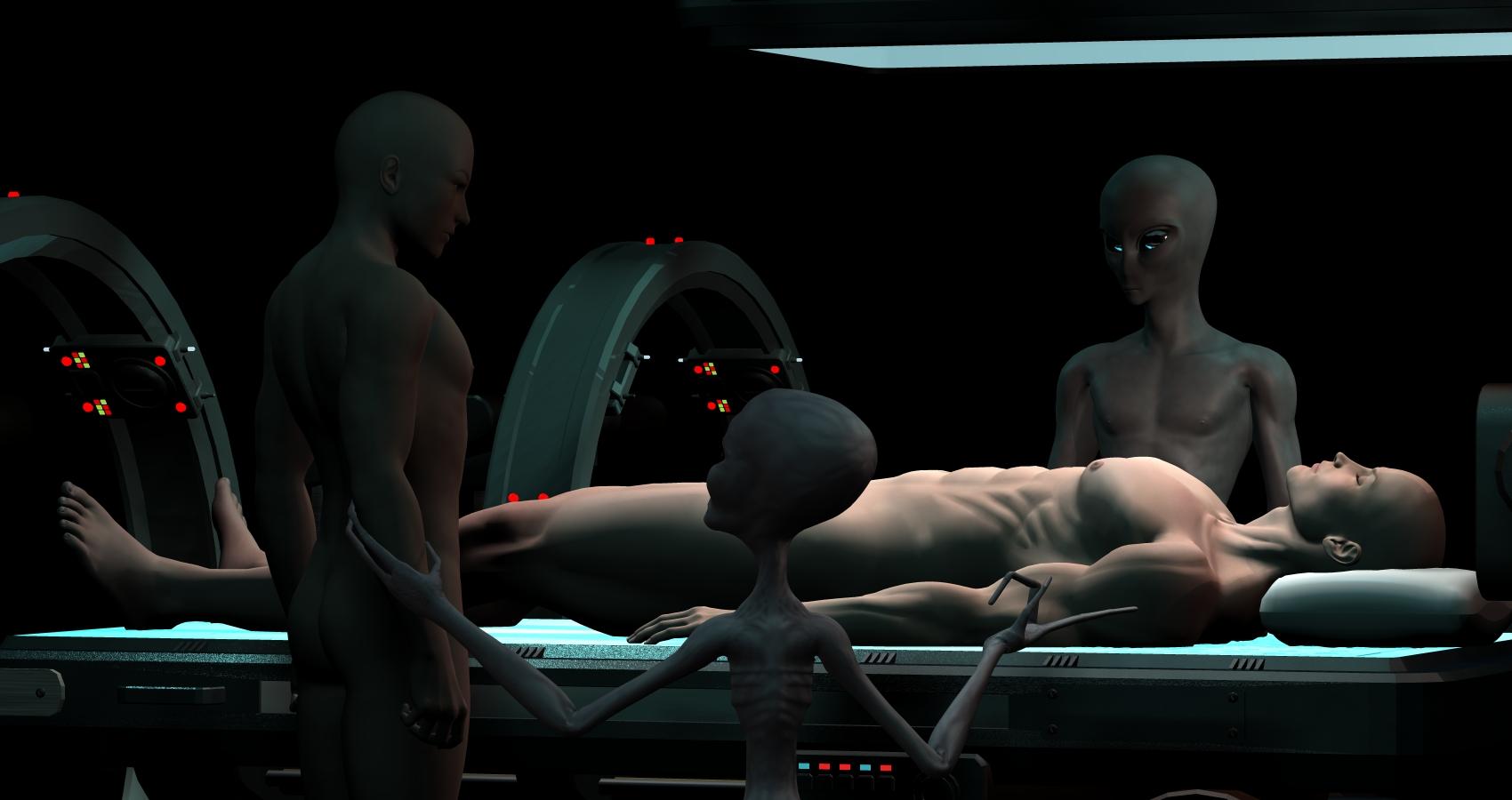 Alien Abductee David Huggins Lost His Virginity To Extra Terrestrial Woman Named Crescent