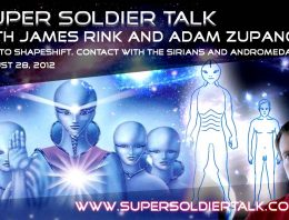 Super Soldier Talk – Shape Shifting and Contact with the Andromedans – August 28, 2012