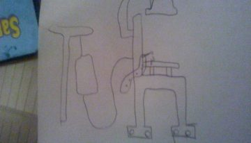 Trip Chair as drawn by Alex Diaz