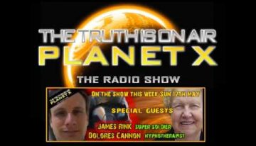 Planet Xtra 19th May 2013 – JAMES RINK and DOLORES CANNON