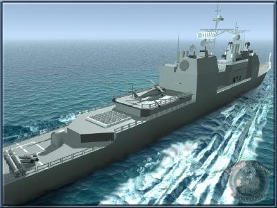 US Navy Ticonderoga Class Cruiser(CG-52_enl