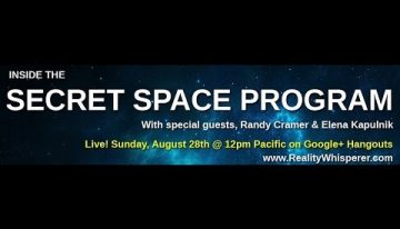 Inside the Secret Space Program – August episode