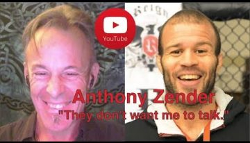 "Anthony Zender ""They don't want me to talk."" 9July2017"
