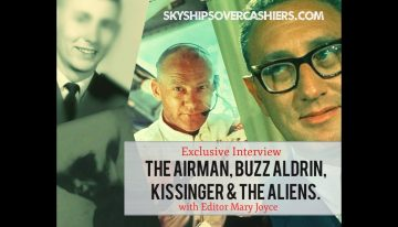 "Exclusive: ""The Airman, Buzz Aldrin, Kissinger and the Aliens"""