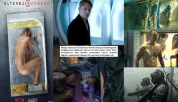 Altered Carbon TV show and the actual ICC/SSP programs