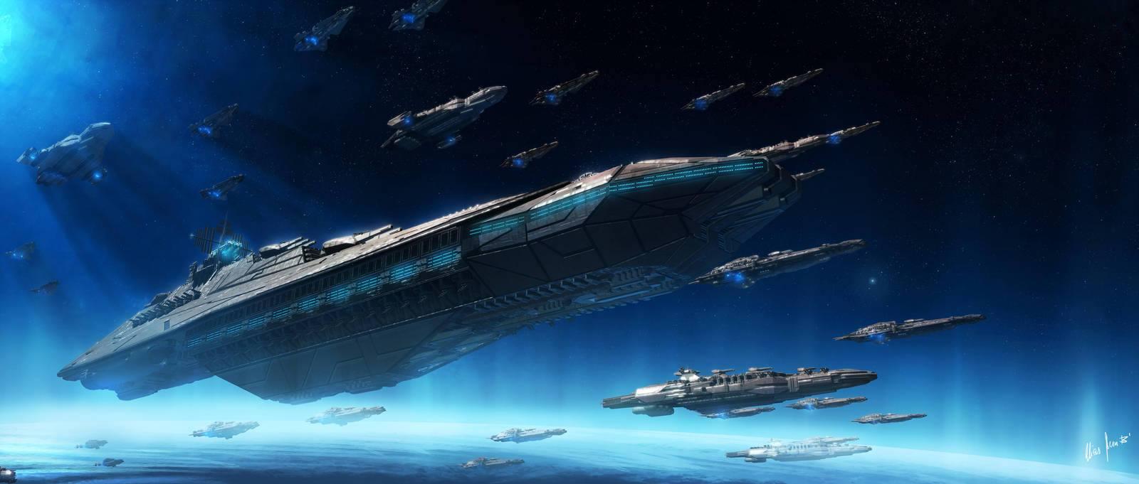 Artist Rendering of SSP Ships