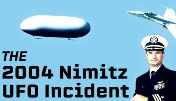 The 2004 Nimitz UFO Incident