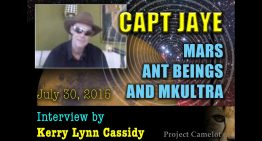 PROJECT CAMELOT : CAPT JAYE : MARS, ANT BEINGS & MKULTRA