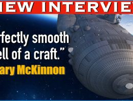 """PERFECTLY SMOOTH SHELL OF A CRAFT."" GARY MCKINNON 1ST INTERVIEW IN YEARS. Richard Dolan Show."