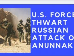 U.S. Forces Thwart Russian Attack on Anunnaki