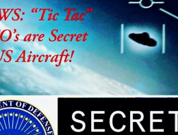 """BREAKING NEWS: """"Tic Tac"""" UFO's are Secret US Aircraft!"""