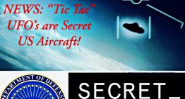 "BREAKING NEWS: ""Tic Tac"" UFO's are Secret US Aircraft!"