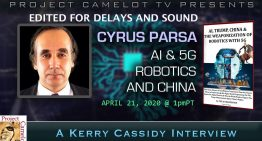 CYRUS PARSA: AI, ROBOTICS, 5G AND CHINA edited for sound and delays