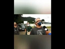 [EN] Negative reptilians spaceship crash in Mage/Rio de Janeiro at 14-05-2020