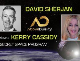 KERRY INTERVIEWED BY DAVID SHERJAN RE THE SECRET SPACE PROGRAM