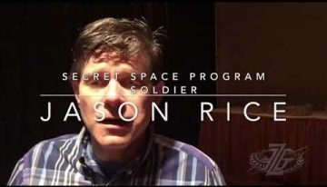 MEET JASON RICE | Secret space program.