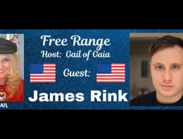 FREE RANGE: Gail of Gaia talks to James About Super Soldiers, History & Galactic Races and Slavery