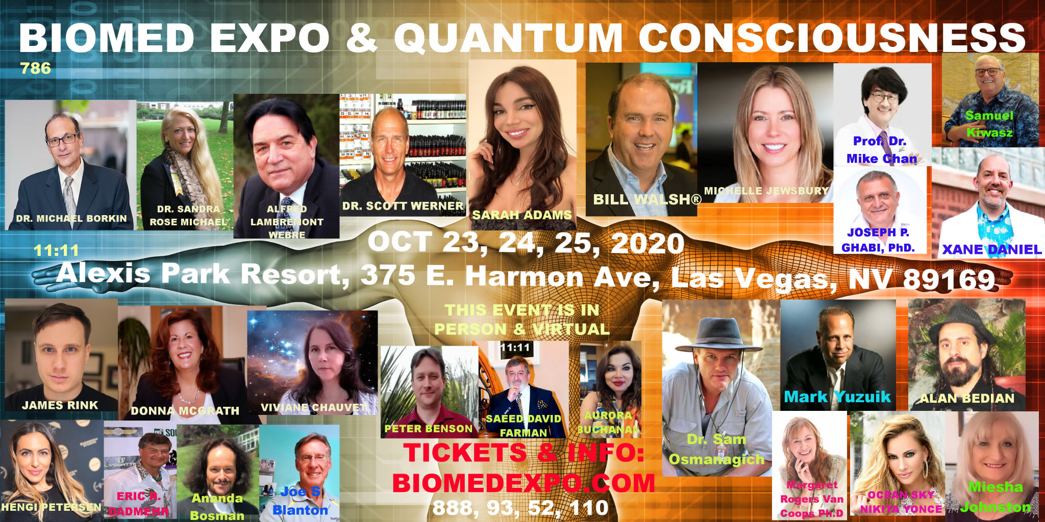 James Rink Speaking at the BIOMED EXPO & QUANTUM CONSCIOUSNESS