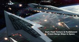 Dark Fleet Torture & Punishment Prison Barge Ships in Space