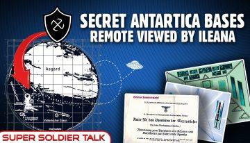 Super Soldier Talk – Ileana and the Antarctica Breakaway Civilizations