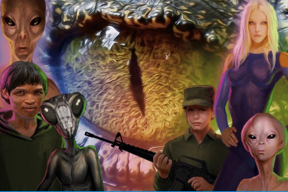 Reptilian Reconnaissance Summary – The Moon, Mars, and Antarctica: