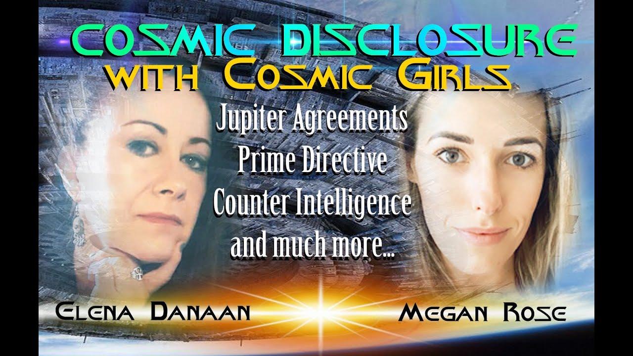 Cosmic Disclosure with Cosmic Girls Elena Danaan and Megan Rose