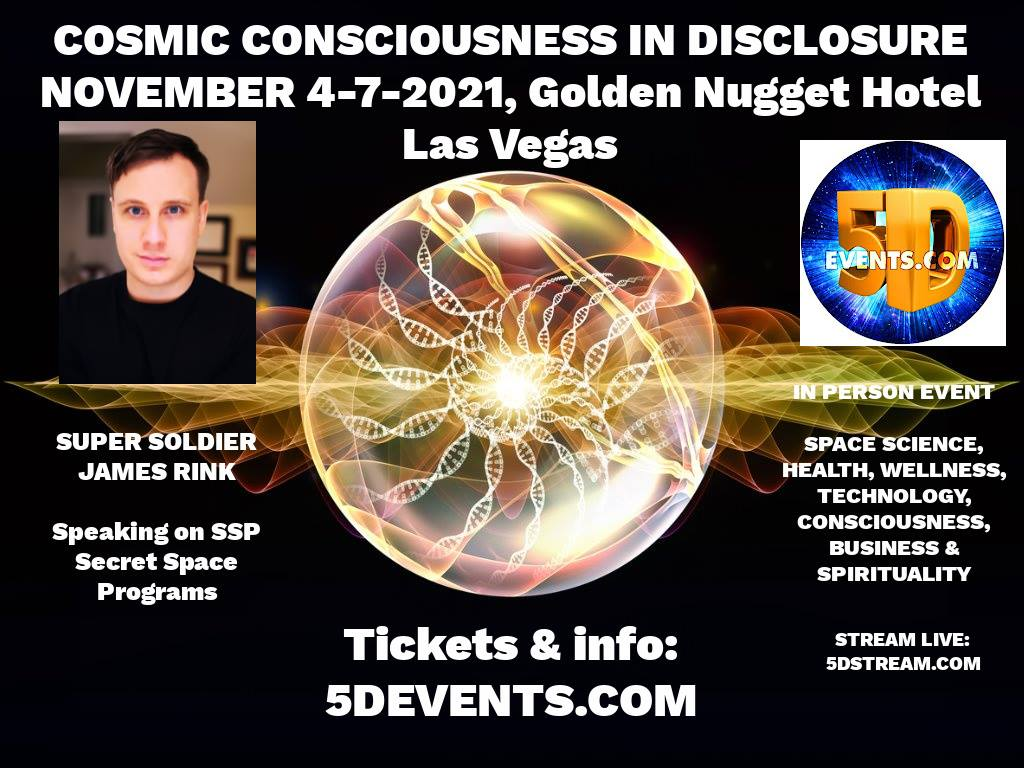 James Rink Speaking at 5D events Vegas