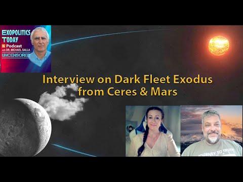 Interview on Dark Fleet Exodus from Ceres & Mars